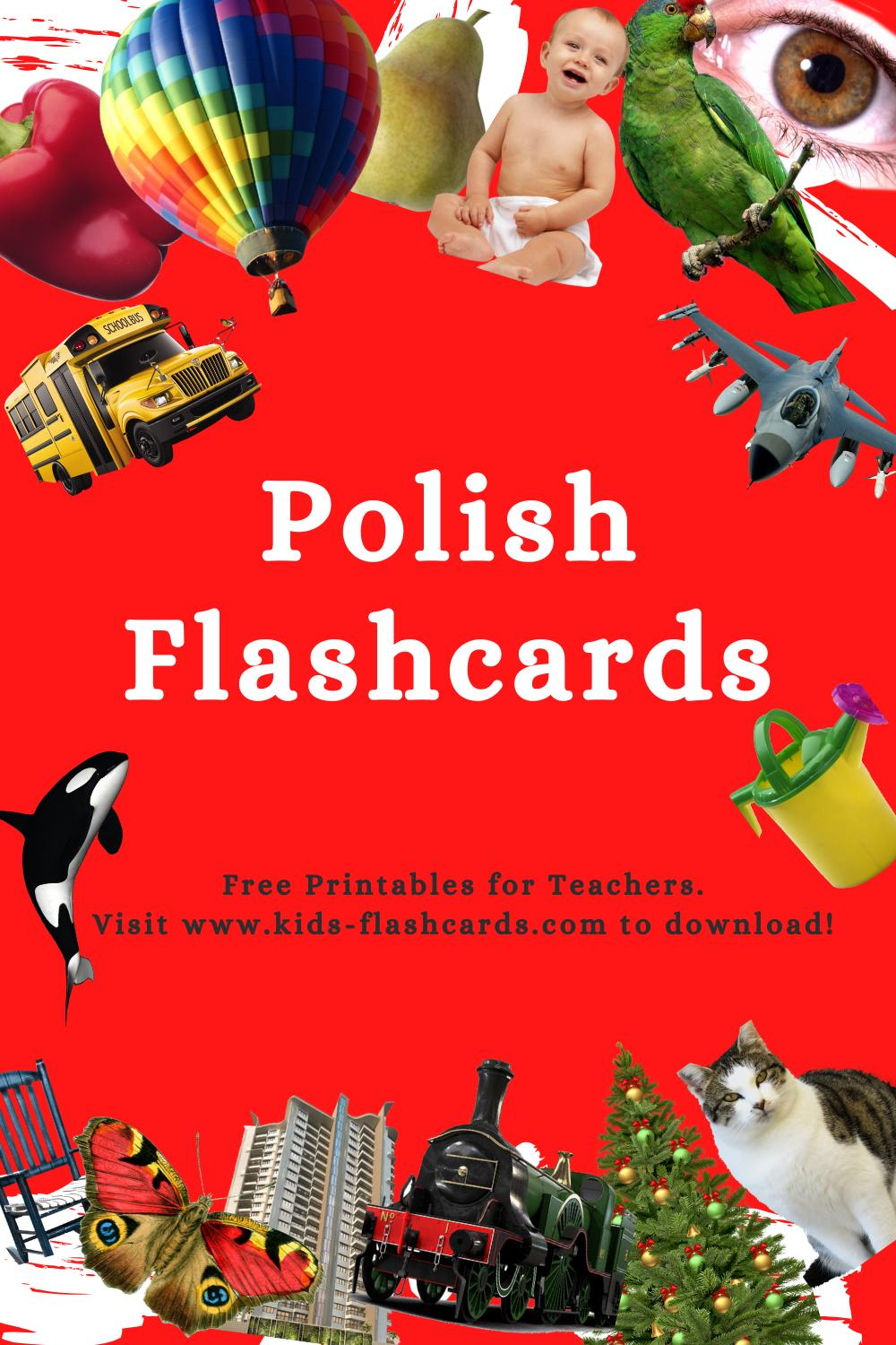 Worksheets to learn Polish language