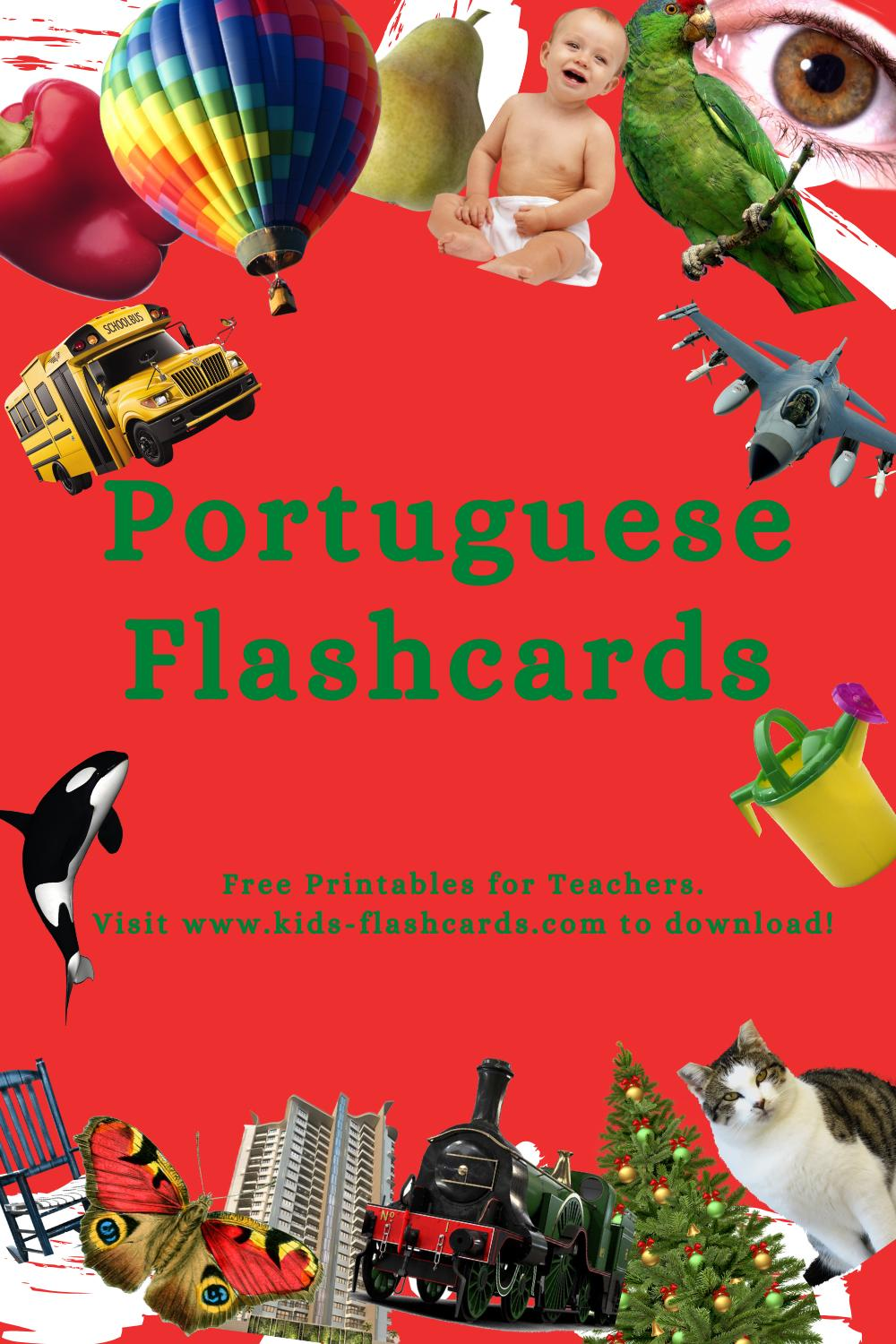 Worksheets to learn Portuguese language