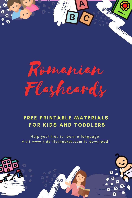 Free Romanian Printables