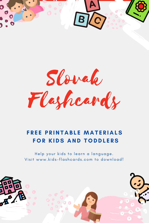 Free Slovak Printables