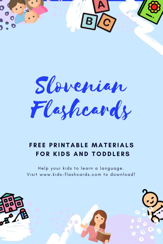 Free Slovenian Printables