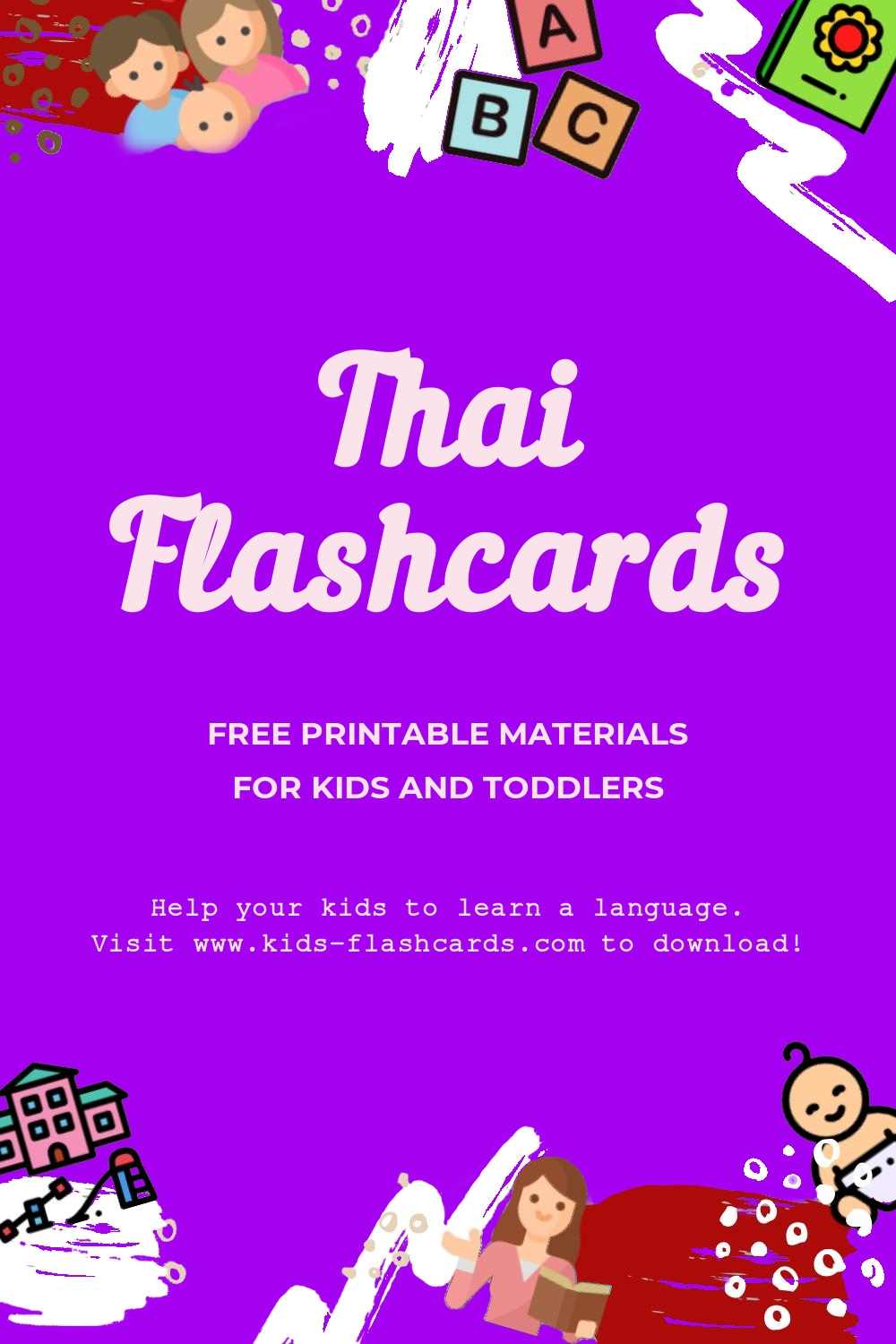 Worksheets to learn Thai language